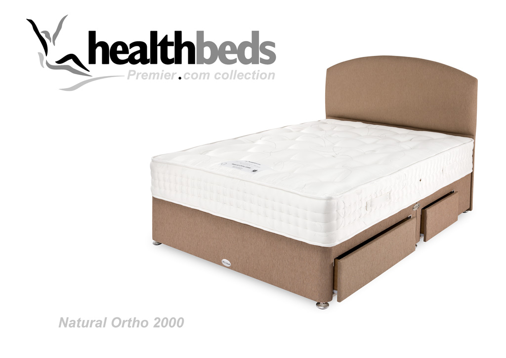 Divan Beds Natural Ortho 2000 Divan Set