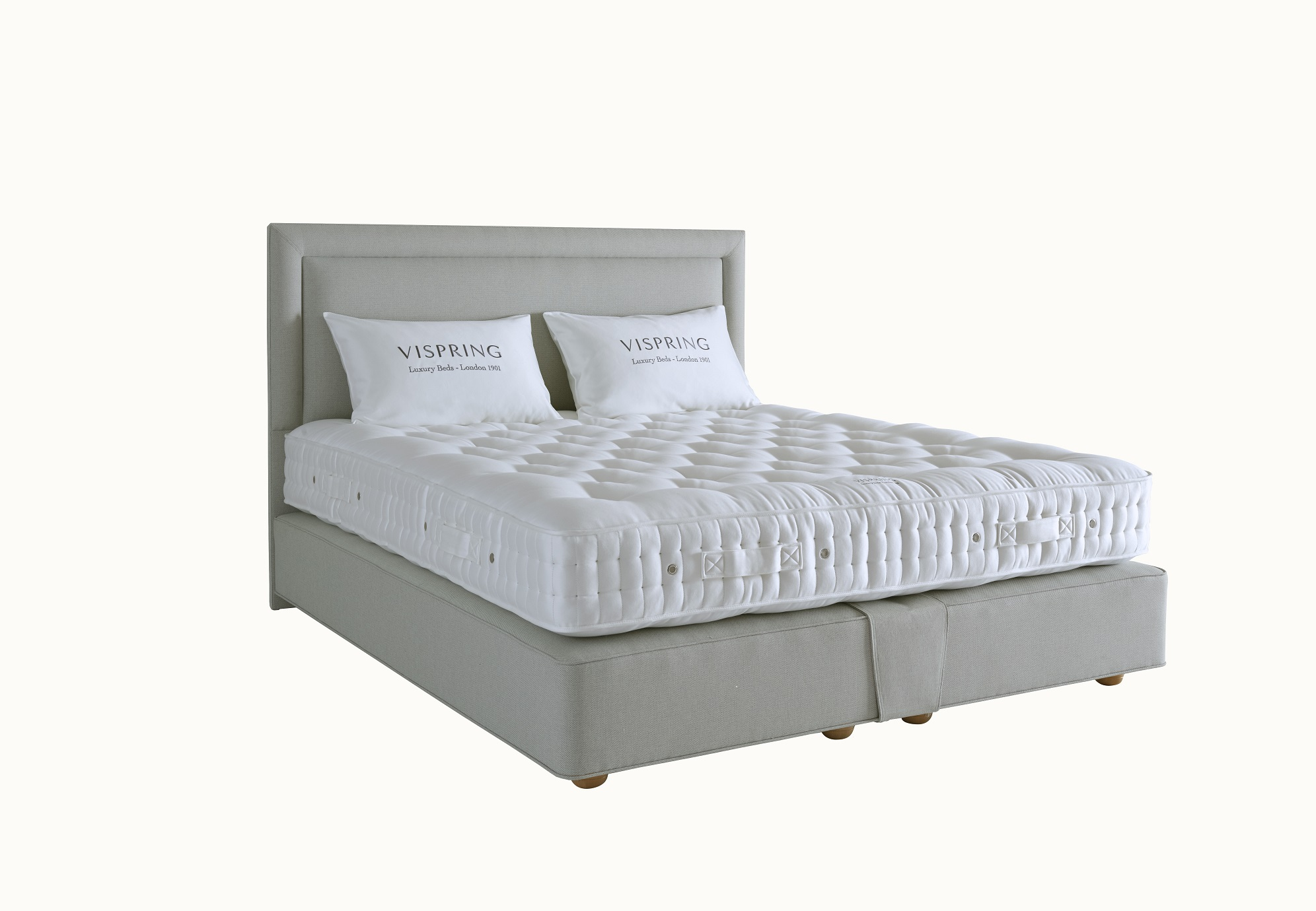 Beds vi spring baronet divan set for Divan set beds