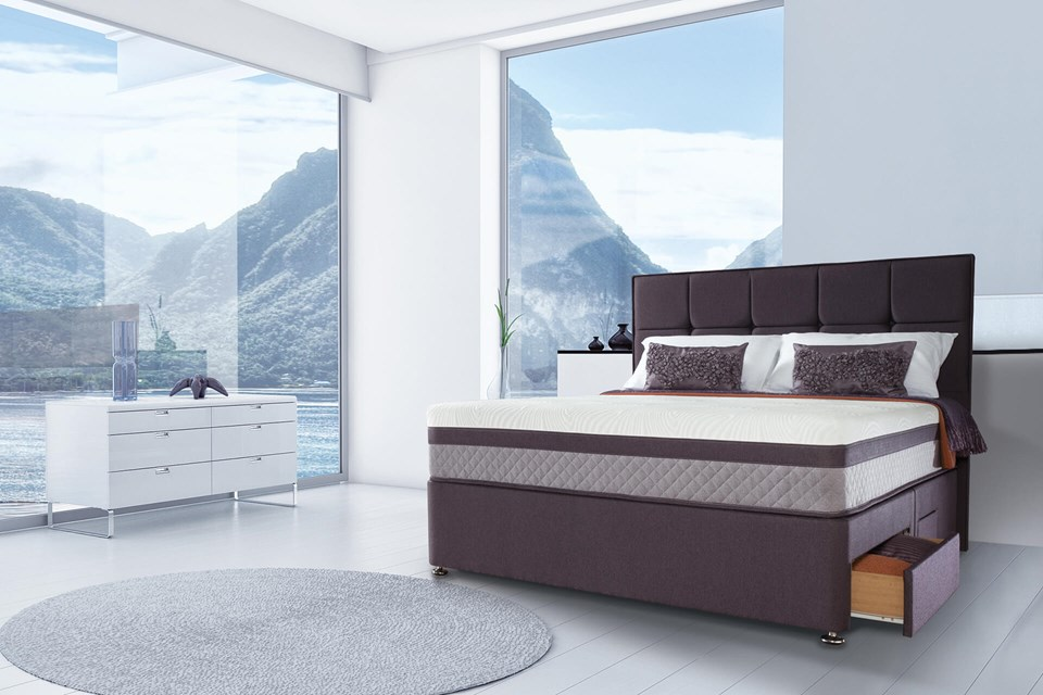 Beds Sealy Hybrid Fusion Divan Set