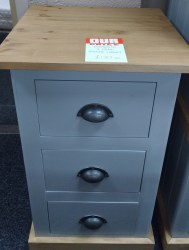 3 draw bedside chest 17