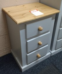 3 draw bedside chest 21