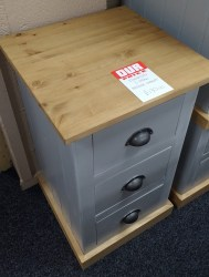 3 draw bedside chest 29