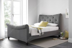 Tyne Bed, Artemis Elephant Grey