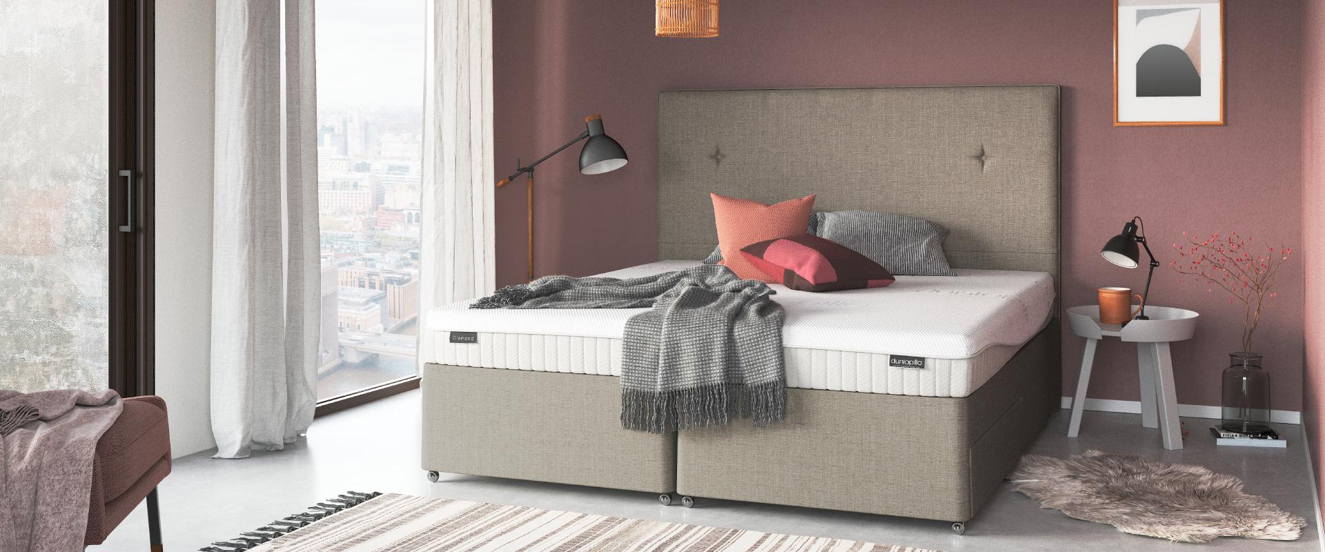 The Bed Shop Alfreton Sofa Beds Dunlopillo Folding