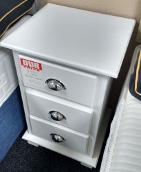 3 draw bedside chest 2